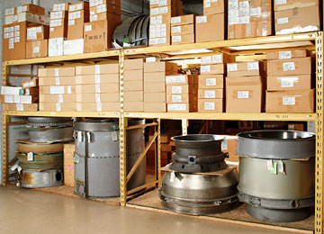 Cirrus Aviation Warehouse ran inventory ready to ship to its customer